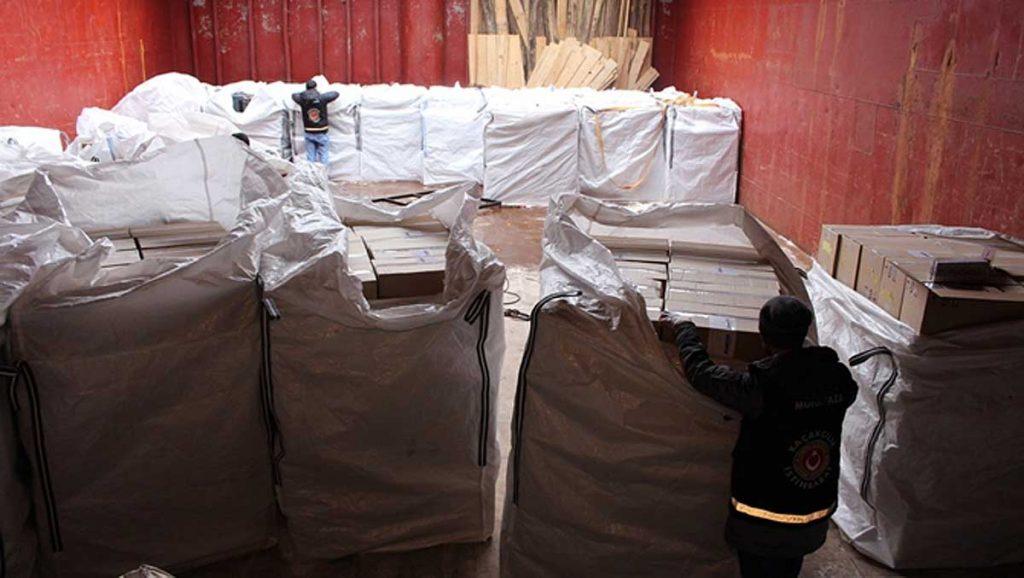 Обыск на сухогрузе PETR, фото www.virahaber.com