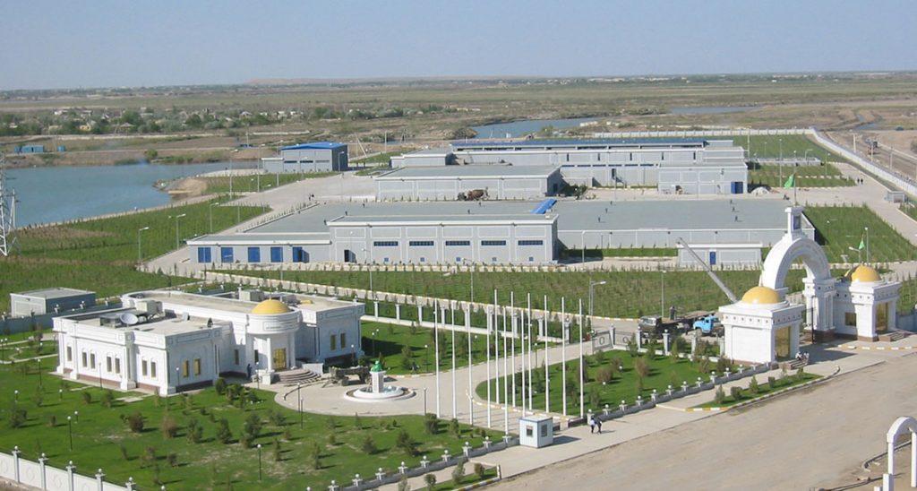 Водоопреснительный завод в Туркменабаде