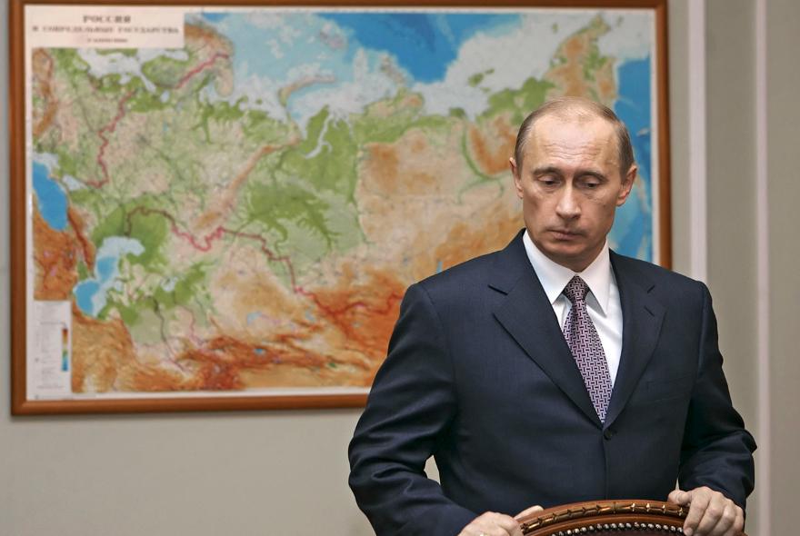 Путин: линия Российской Федерации нигде не завершается