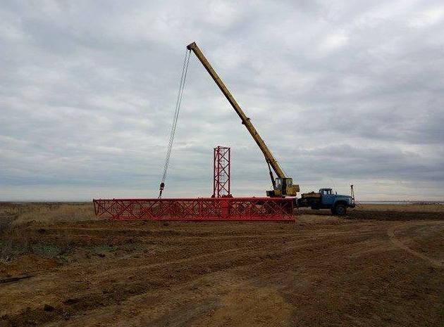 Украина начала строительство телевышки для вещания наКрым