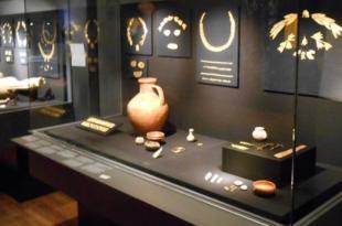 """Экспонаты из коллекции """"крымского золота скифов"""" в Амстердаме. Фото: EPA/UPG"""
