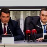 Директор НАБУ Артем Сытник и руководитель САП Назар Холодницкий Фото: скриншот Youtube Укринформ