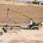Строительство дамбы на Северо-Крымском канале Фото: Центр журналистских расследований