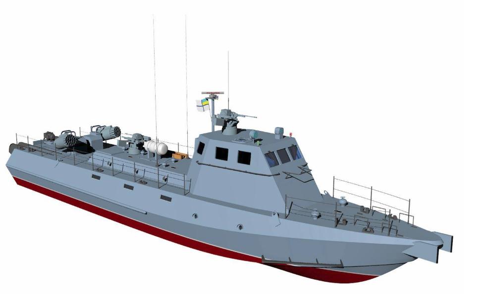 ВГенштабе отчитались озакладке 2-х новых катеров типа Кентавр