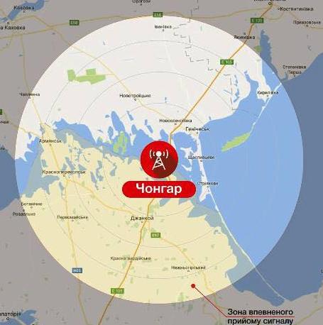 Вышка наЧонгаре построена: стало известно, когда Крым услышит украинское радио