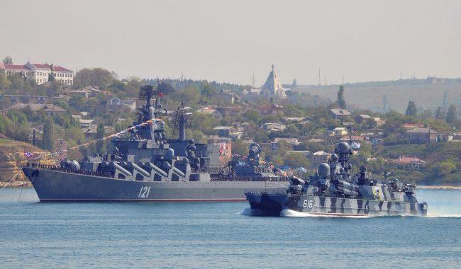 РФ провела ракетные стрельбы в Крыму. Волшебный Партенит