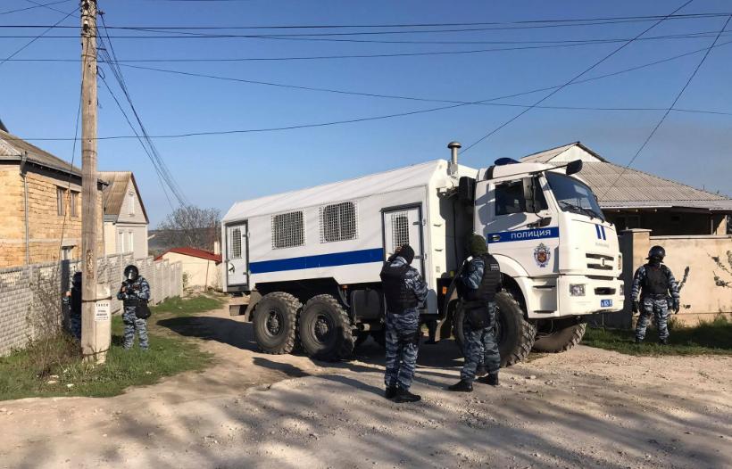 ВБахчисарае прошло массовое задержание крымских татар