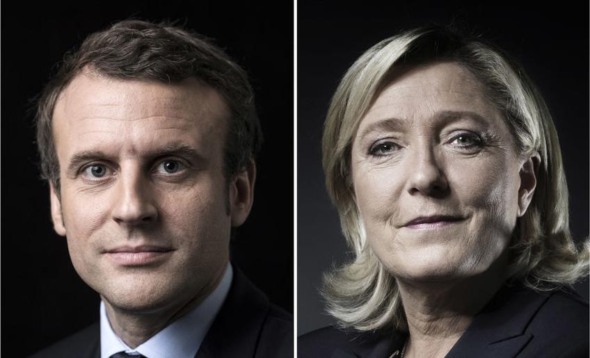 Выборы воФранции: Во2-ой тур выходят Макрон иЛеПен