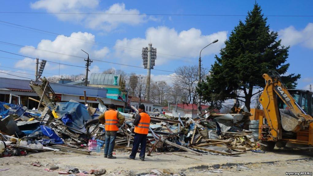 Территорию прежнего рынка наКозлова вСимферополе благоустроят коДню города