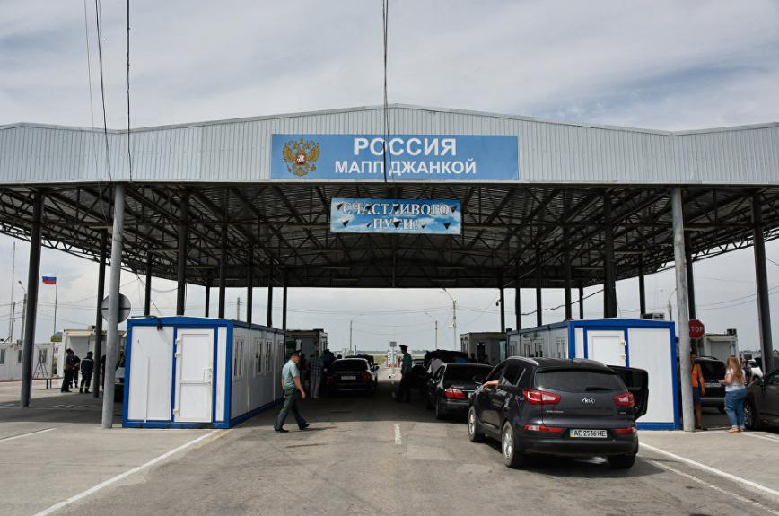 Украинские таксисты получили запрет на заезд в захваченный Крым
