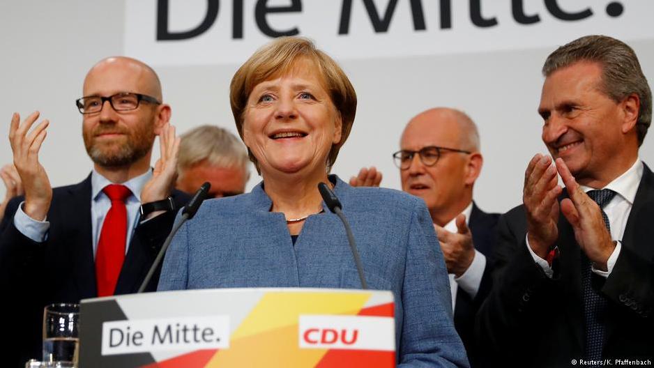 Триумф радикалов: партия Меркель одолела навыборах вГермании