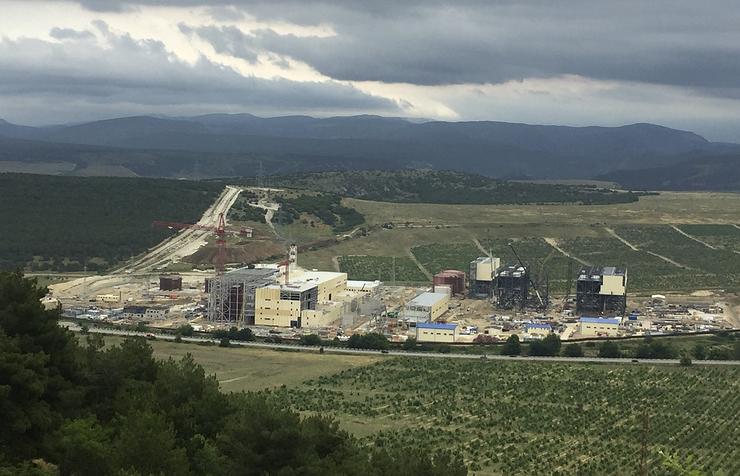 В Крыму перенесли срок сдачи ТЭС на июнь 2018 года. Волшебный Партенит