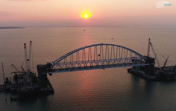 Кконцу декабря сомкнется мост через Керченский пролив