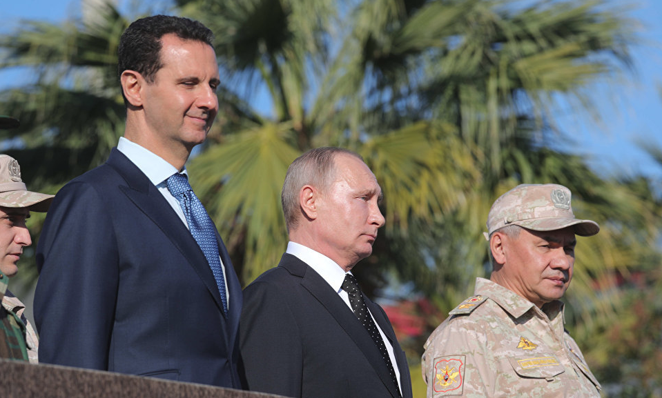 Путин впервый раз приехал вСирию!
