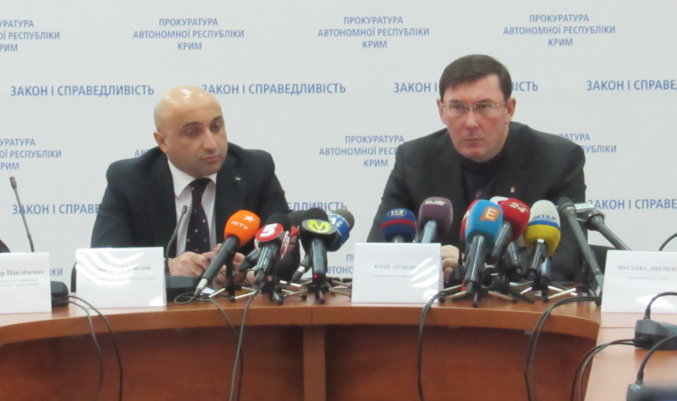 Оккупанты захватили вКрыму неменее 4000 учреждений,— Луценко