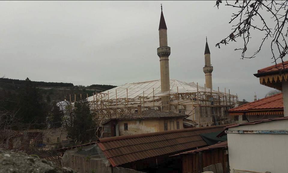 Ханский дворец вБахчисарае будет отреставрирован впервый раз современ СССР