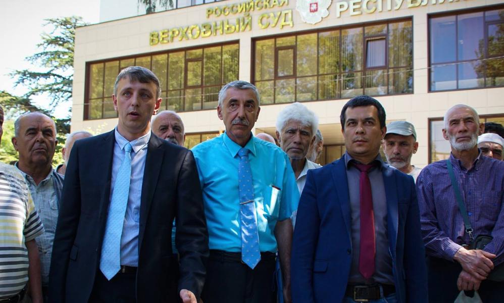 Суд вКрыму подтвердил вердикт активисту Кадырову