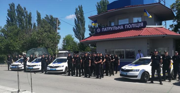 На Херсонщині розпочав роботу відокремлений відділ патрульної поліції в АР Крим і Севастополі