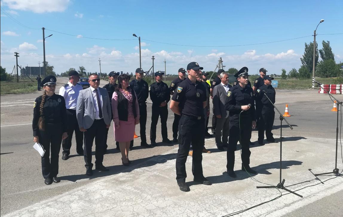 ВУкраинском государстве начала работать патрульная милиция Крыма